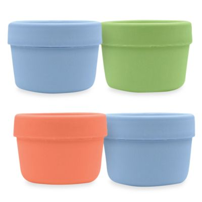 green sprouts® by i play.® Sprout Ware® 4-Pack Boys Snack Cup