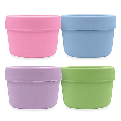 green sprouts™ by i play.® Sprout Ware® 4-Pack Girls Snack Cup