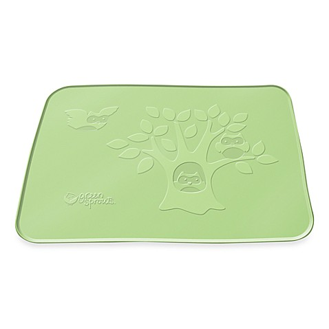 green sprouts® by i play.® Silicone Sage Plate Mat in Stage 4/5