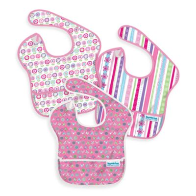 Bumkins® 3-Pack SuperBib Girl's