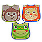 Hamco Character Face Bib Set in Boy