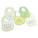Hamco® Grandma/Family Attitude Sayings 5-Pack Bib Set