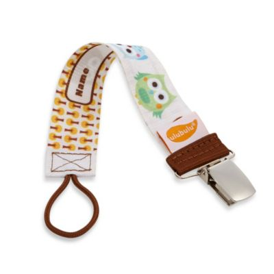"ulubulu™ Personalized ""Oliver"" Pacifier Clip"