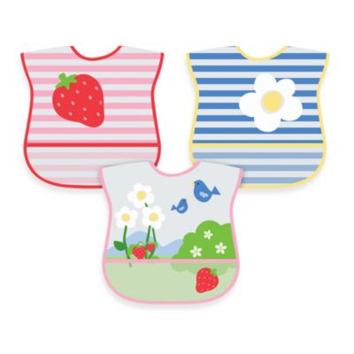 green sprouts® by i play.® 3-Pack Waterproof Eva Bib
