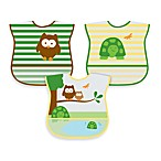green sprouts™ by i play.® 5-Pack Waterproof Eva Bib in Unisex