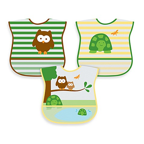 green sprouts® by i play.® 3-Pack Waterproof Eva Bib in Unisex