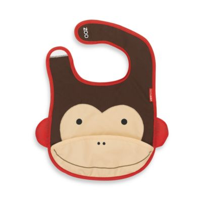 SKIP*HOP® Zoo Tuck-Away Bibs in Monkey
