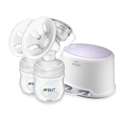 Breast Feeding > AVENT BPA-Free Comfort Double Electric Breast Pump