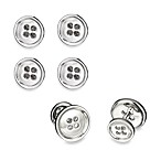Robin Rotenier Sterling Silver Button Cufflinks and/or Studs Sets