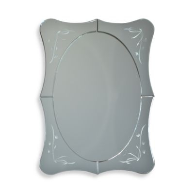 Studio Arts Venetian Seagrass Mirror
