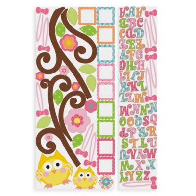 Happi Letter Branch Peel & Stick Giant Wall Decal