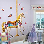 Carousel Horse Peel & Stick Giant Wall Decal
