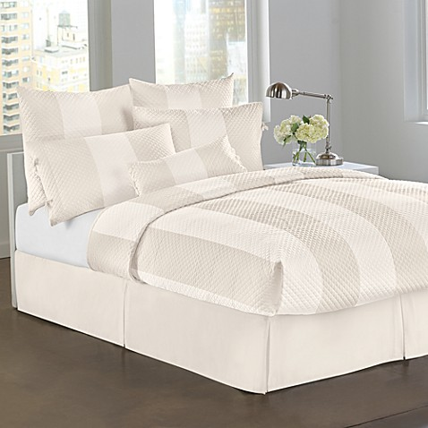 DKNY Harmony King Bed Skirt in Ivory
