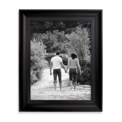 Braden Scoop Black Photo Frames