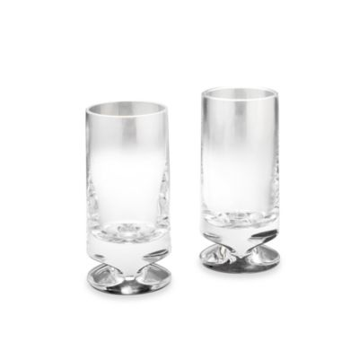 Nambe Groove Crystal HightBall (Set of 2)