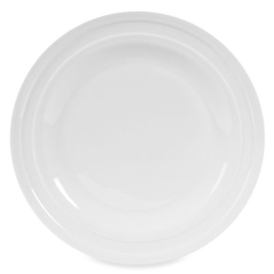 Fitz and Floyd® Nevaeh White Double Banded 10-Inch Dinner Plate