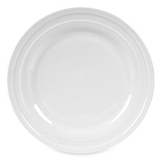 Fitz and Floyd® Nevaeh White Double Banded 8-Inch Salad Plate