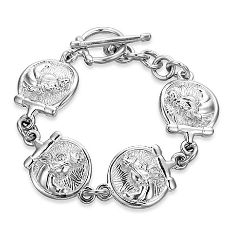 Arthur Court 8-Inch Saints, Ropes & Cowboys Horse Bracelet
