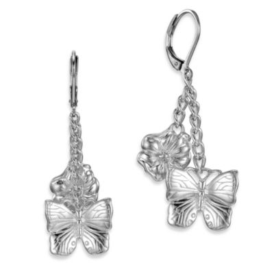 Arthur Court Great Outdoors Butterfly Earrings