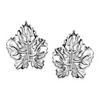 Arthur Court Great Outdoors Leaf Earrings