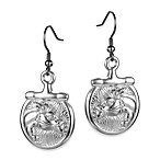 Arthur Court Saints Ropes & Cowboys Horse Earrings