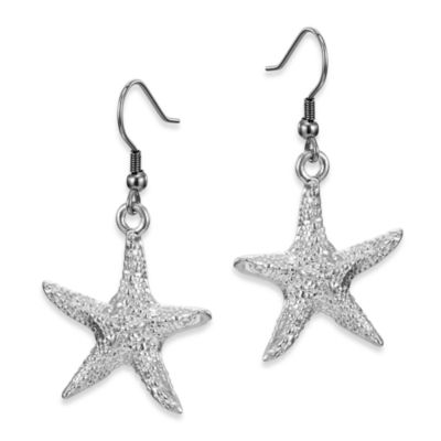 Arthur Court Sea and Lake Life Starfish Earrings