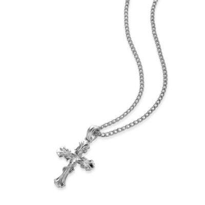 Arthur Court Great Outdoors Cross Necklace