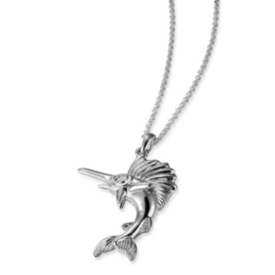 Arthur Court Sea and Lake Life Swordfish Necklace