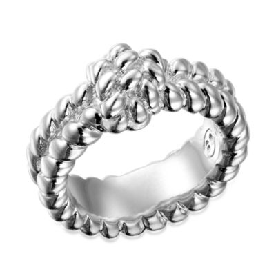 Arthur Court Saints, Ropes, & Cowboys Collection Size 8 Rope Ring