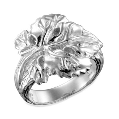 Arthur Court Great Outdoors Size 5 Grape Leaf Ring