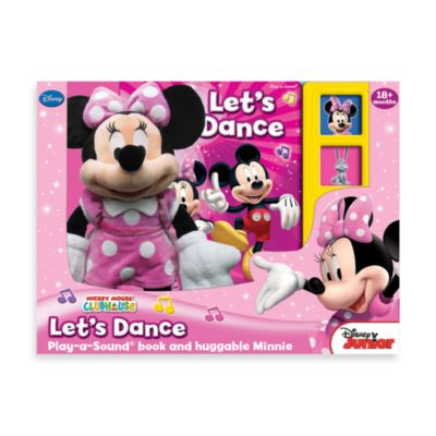 A Box Full of Fun! Book and Plush Minnie Mouse - from Disney