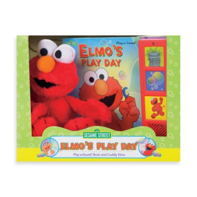 Pretend Play > Sesame Street® A Box Full of Fun! Book and Plush Elmo Toy