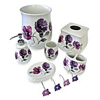 Floral Waltz Shower Curtain Hooks (Set of 12)