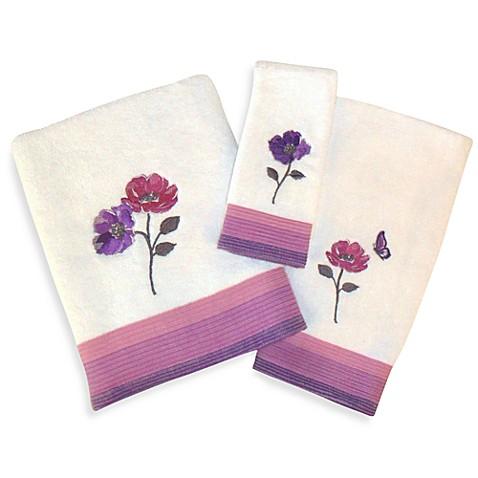 Floral Waltz Bath Towel Collection Bed Bath Beyond
