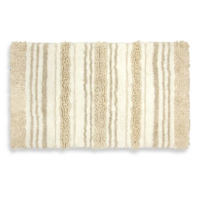 Renaissance Mirage 20-Inch x 33-Inch Bath Rug in Natural