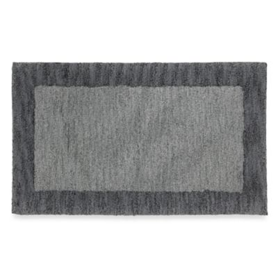 Renaissance Abrash Bath Rug in Pewter