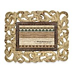 Through the Woods Tan Scrollwork Frame