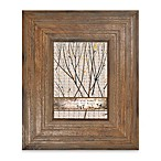Through The Woods 5-Inch x 7-Inch Grooved Frame in Brown