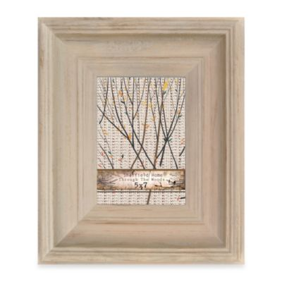 Through The Woods 5-Inch x 7-Inch Scoop Frame in Tan