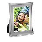 Brushed Metal And Silver 5-Inch x 7-Inch Photo Frame