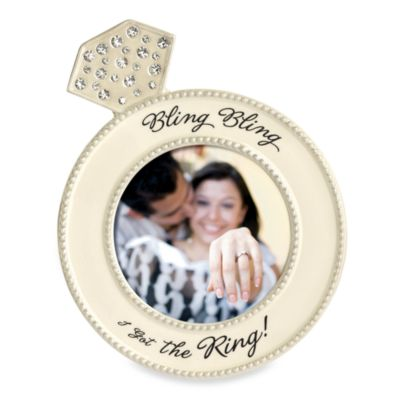 """Bling Bling"" Bridal Wedding Photo Frame"