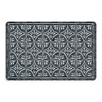 Bungalow Flooring New Wave Tin Tile Pewter Doormat