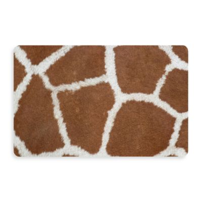 Bungalow Flooring New Wave 18-Inch x 27-Inch Giraffe Door Mat