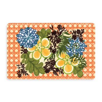 Bungalow Flooring New Wave 18-Inch x 27-Inch Jamaica Door Mat