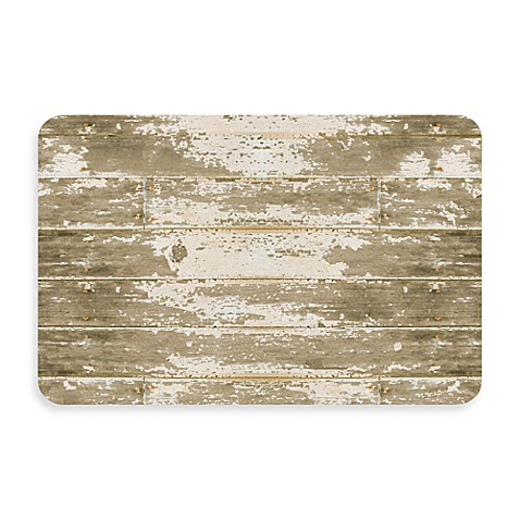Bungalow Flooring New Wave 18-Inch x 27-Inch Barnboard Door Mat