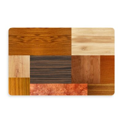 Bungalow Flooring New Wave 18-Inch x 27-Inch Exotic Woods Door Mat