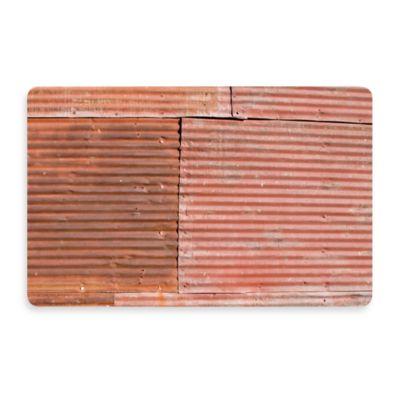 Bungalow Flooring New Wave 18-Inch x 27-Inch Tin Roof Door Mat
