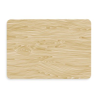 Bungalow Flooring New Wave Handdrawn Wood Grain Doormat