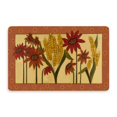 Bungalow Flooring New Wave 18-Inch x 27-Inch Kansas Wheat Door Mat