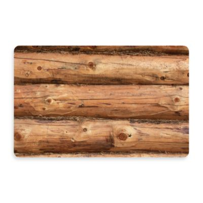 Bungalow Flooring New Wave 18-Inch x 27-Inch Log Jammer Door Mat